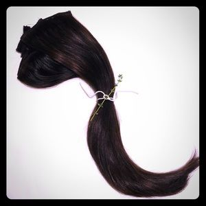 """Piccolina 120g 18"""" Chocolate Brown Hair Extensions"""